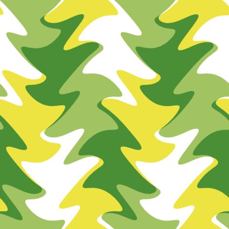 sunlit leaves fabric by weavingmajor on Spoonflower - custom fabric