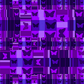 Purple Butterfly City