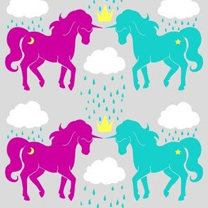 The Storm Ponies (Pink and Grey)