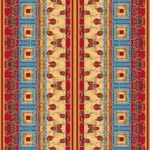 Summer's Farewell Bohemian Stripes (vertical)
