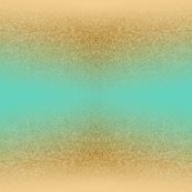 Glitter Gold Aqua Blue Gradient