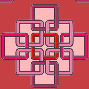 Celtic Knot in Red