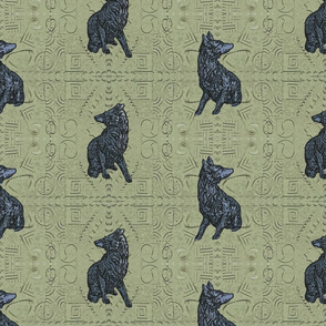 Coyote just in tile - pewter cobblestone