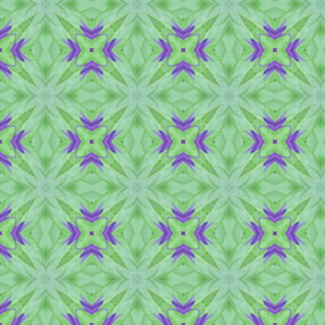 Purple_Flower5 fabric by bahrsteads on Spoonflower - custom fabric