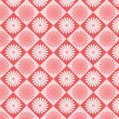Daisy Argyle Red