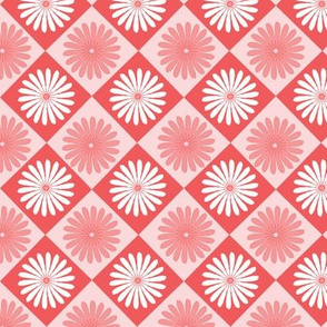 Daisy Argyle Red
