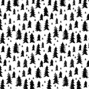 tree // trees black and white forest trees minimal kids nursery black and white nursery