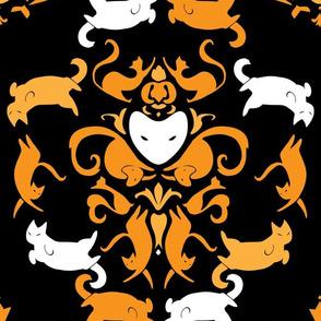 Spooky Feline Demask