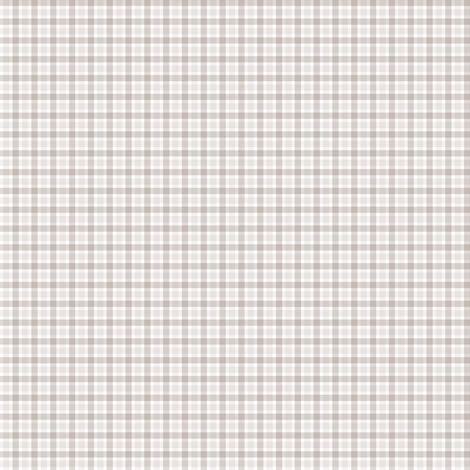 Warm Grey Check small fabric by anniemathews on Spoonflower - custom fabric