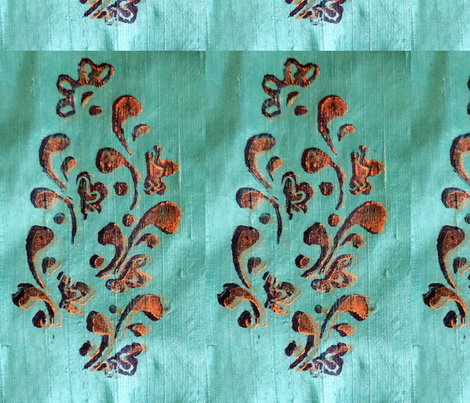DivineNY-Peacock-Fabric-Print fabric by divineny on Spoonflower - custom fabric
