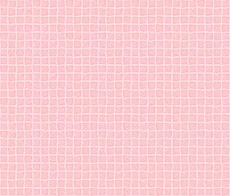 Pink_Tonal_Beach_Organic_Checks-01 fabric by jenn_borek on Spoonflower - custom fabric