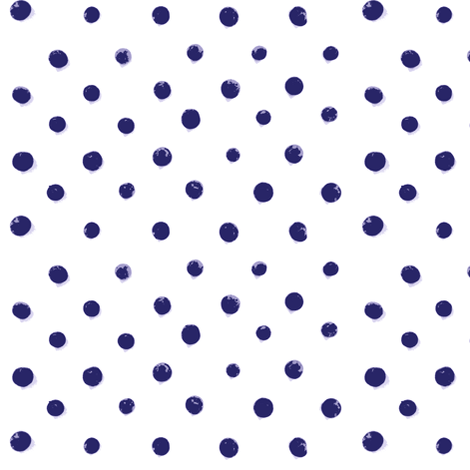Bluest Berry Dots fabric by ldqcanada on Spoonflower - custom fabric