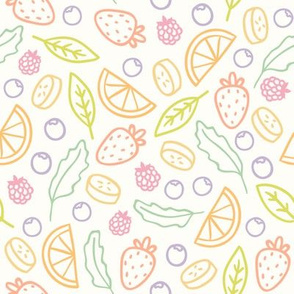 Tasty fruits pattern