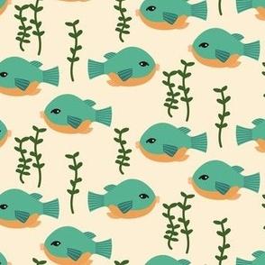 Puffer Fish | Eggshell