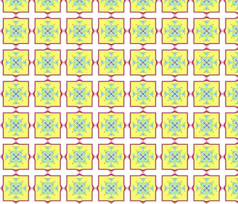 Angular perfection fabric by barbaracarlson on Spoonflower - custom fabric
