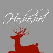 ho,ho,ho! reindeer rudolph