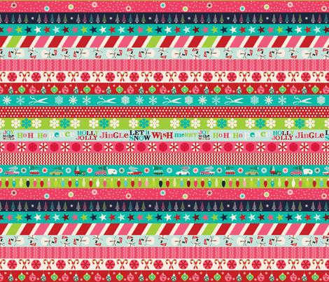 Washi Christmas fabric by cynthiafrenette on Spoonflower - custom fabric