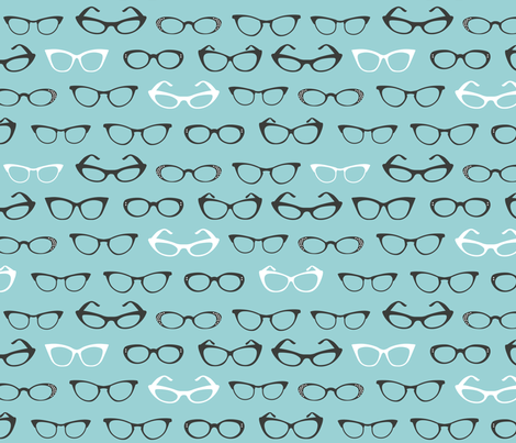 Specs fabric by cynthiafrenette on Spoonflower - custom fabric