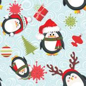 Holiday Penguins Christmas