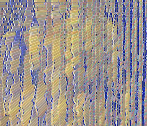 stripesextrude fabric by bbusbyarts on Spoonflower - custom fabric