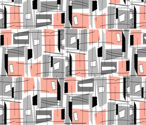 Mid-Century Modern Rectangles fabric by hot4tees_bg@yahoo_com on Spoonflower - custom fabric