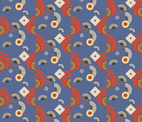 fans fabric by isabella_asratyan on Spoonflower - custom fabric