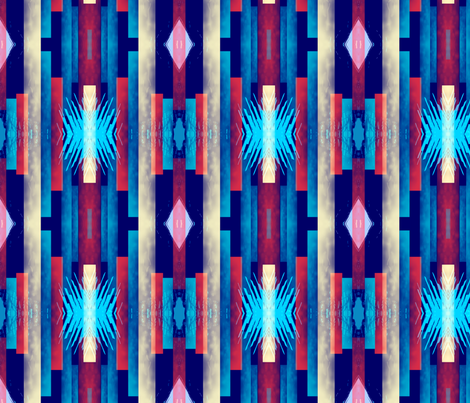 Tribal-1_1 fabric by kozihut on Spoonflower - custom fabric