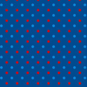 Patriotic Butterfly Dot