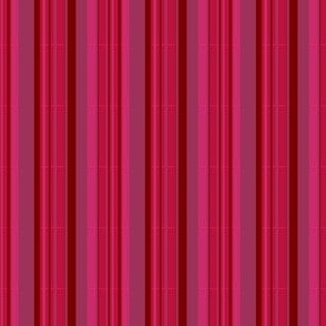 French Ticking ~ Courtesan and Claret Grosgrain on Eponine
