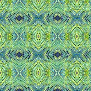 Boho Blue II Wallpaper