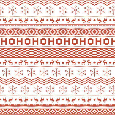 ugly christmas sweater white small scale fabric by papercanoefabricshop on spoonflower custom - Christmas Sweater Wallpaper