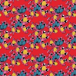 Florescência red