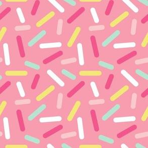 Donut Pink Sprinkles - Spoonflower