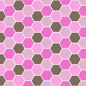 Honey Comb Pink