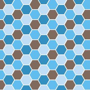 Honey Comb Blue