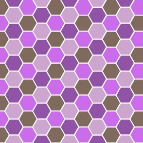 Honey Comb Purple