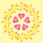 Dancing Stars and Hearts