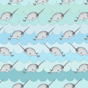 Narwhals in a Row