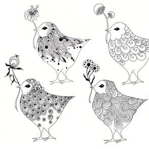 pillow birds