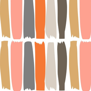 Stripes on White