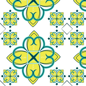 Asian_Pattern_2_Citron Teal