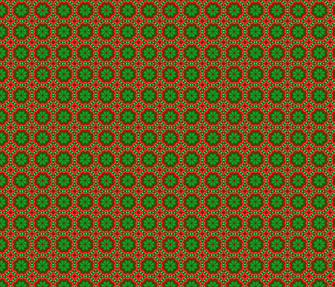 Christmas-Falalalala fabric by marbleswords on Spoonflower - custom fabric