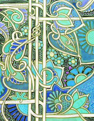 Leafy Blue Green World