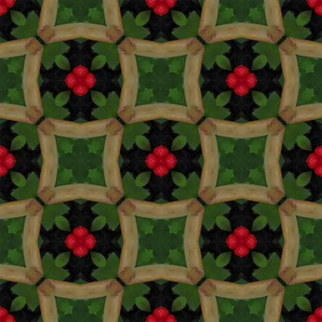 Late Summer Green 3 fabric by bahrsteads on Spoonflower - custom fabric