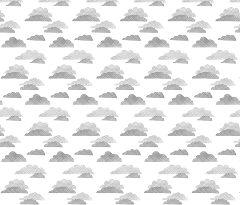 Storm Clouds fabric by christina_rowe on Spoonflower - custom fabric