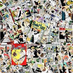 vintage comic book brides