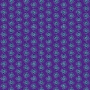 aqua swirls on purple