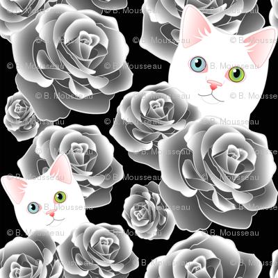 Sesshoumaru's Roses, black flavor