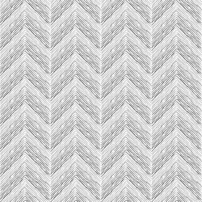Crayon Chevron Aqua Grey