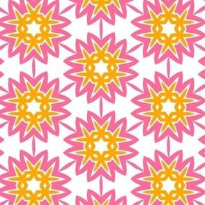 Suzannah Pink & orange